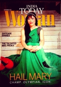 Magnificient Mary on India today women's cover